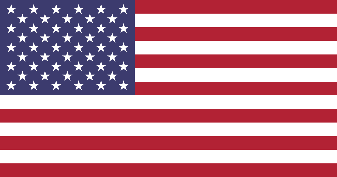Python Script 11: Drawing Flag of United States of America using Python Turtle