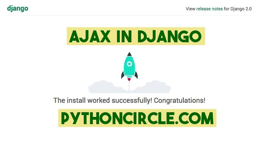 How to use AJAX with Django